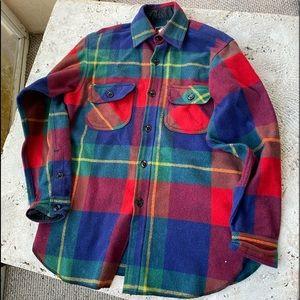 Johnson Woolen Mills Wool Flannel Shirt